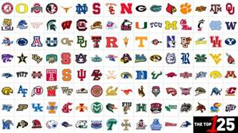 college football team colors 125 college football teams ranked and explained