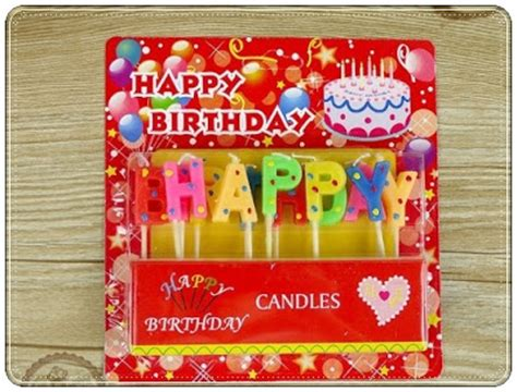 Murah Lilin Biasa Lilin Ulang Tahun Birthday Candles By Esslshop2 Lilin Ultah Motif Happy Birthday Polkadot Balloon Corner