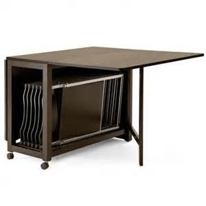 Collapsible Dining Table And Chairs 1000 Id 233 Es 224 Propos De Tables Pliantes Sur Pinterest