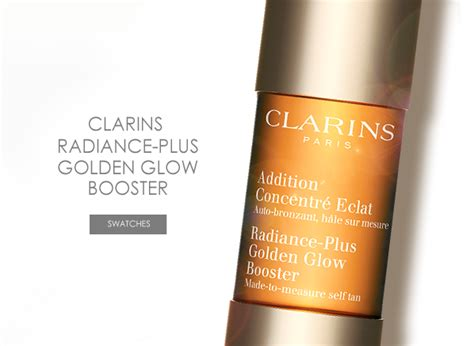 april bath and shower glow tanning clarins radiance plus golden glow booster escentual s