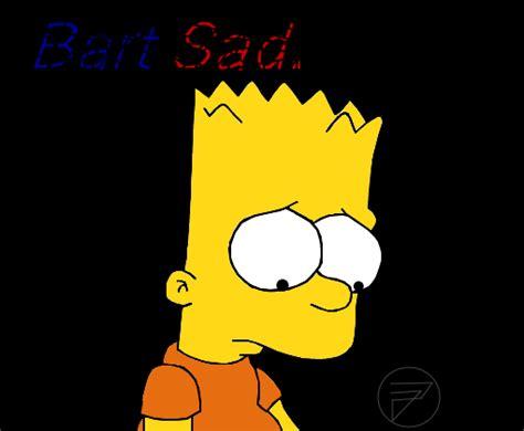 imagenes de bart triste bart sad triste desenho de lost forever gartic