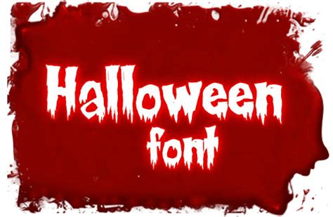 printable scary fonts 20 free scary horror halloween fonts 2012