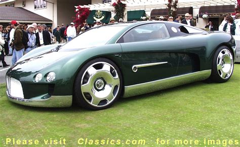 bentley concept car classics com pebble beach concours d elegance 1999