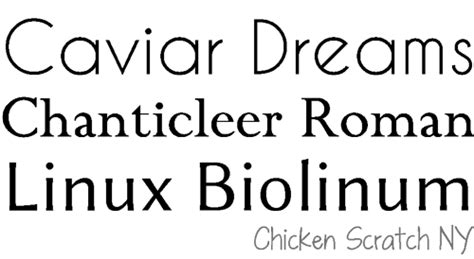 dafont caviar dreams 5 tips for font selection chicken scratch ny
