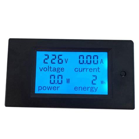 Diskon Panel Meter M4w S 1 Power 100 240vac Autonics pzem 021 4in1 ac voltmeter current power monitor alarm 80 270v 20a black jakartanotebook