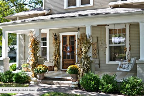 home porch vintage home love fall porch ideas