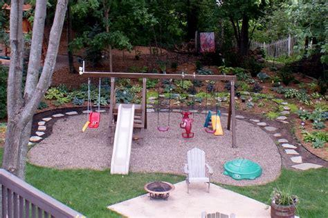 Pea Gravel Backyard Ideas by Pea Gravel Backyards And Walkways On