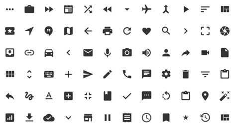material design icon eye visual guide to android l material design 7 insights