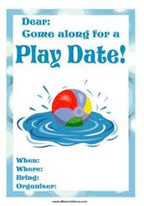 kids playdate invitations all free invitations