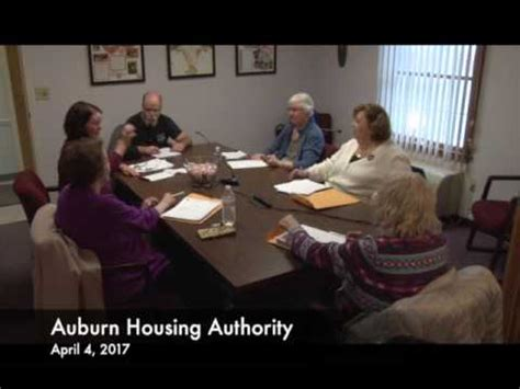 auburn housing authority auburn housing authority april 4 2017 youtube
