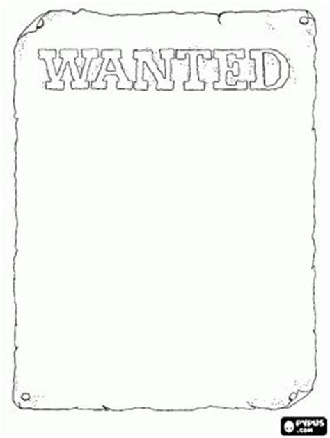 black and white wanted poster template 40 best images about cowboy coloring and on