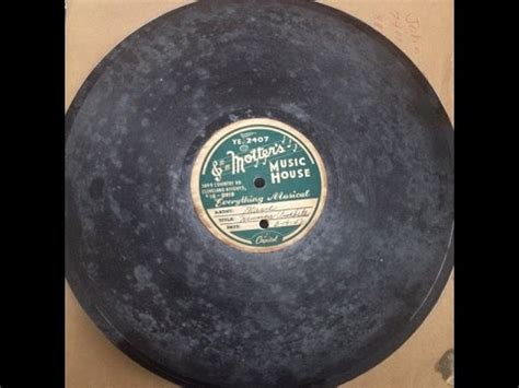 motter s music house 78 rpm acetate quot marie quot sings quot musica arabita quot on a motter s music house record dated