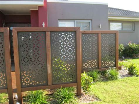 Outdoor Patio Privacy Screen by Outdoor Attractive Privacy Ideas For Decks Giving Chic