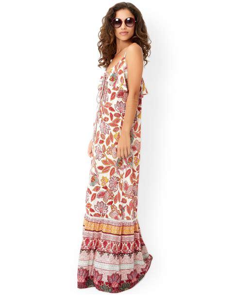 Kirana Maxy Dress kirana print maxi dress maxidress womensclothing
