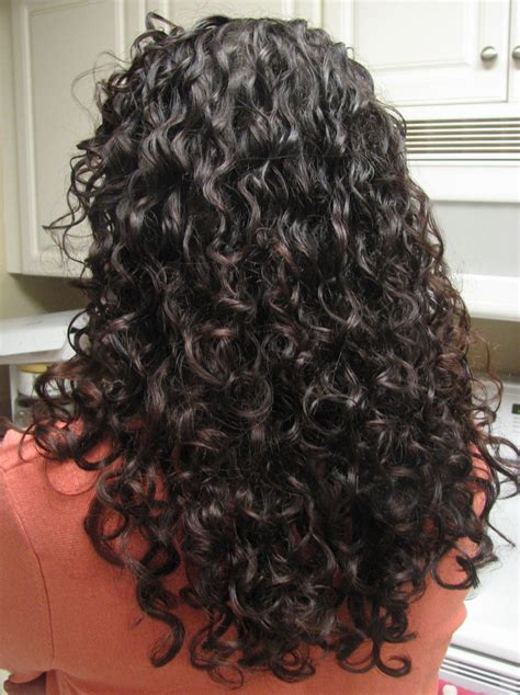 straight hair at front and curls at back curly hair back view tumblr www pixshark com images