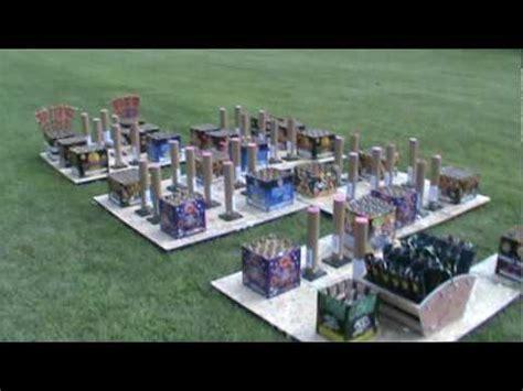 backyard firework show fireworks display setup july 4th 2010 brown and abbott youtube