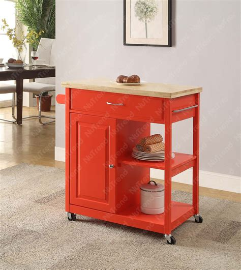 red kitchen cart island wooden red kitchen trolley kitchen island cart buy kitchen island kitchen island cart kitchen