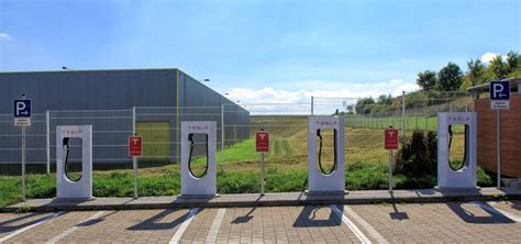 Supercharger Stations For Tesla Tesla Supercharger Stations Germany A9 2014 Energy