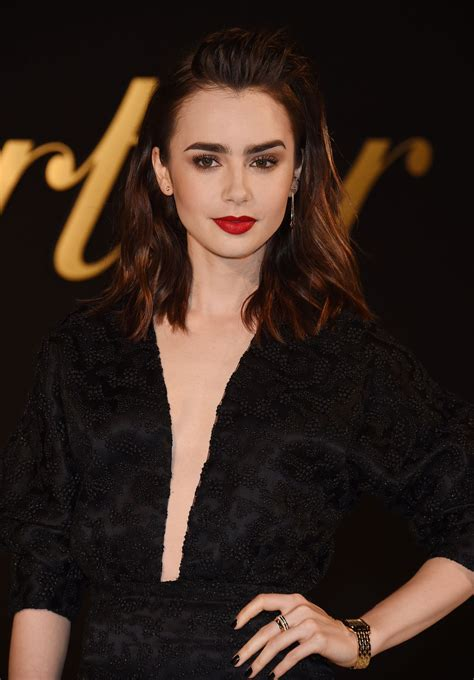 lily collins 2010 lily collins at panthere de cartier watch launch in los