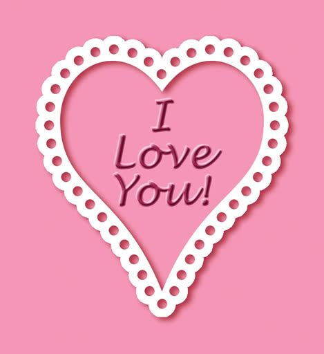 imagenes de corazones con i love you i love you imagen de corazon