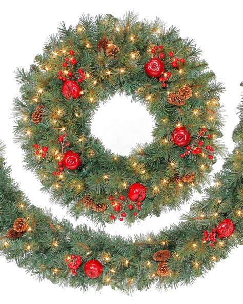 wreaths and garland fir wreath and garland tree market