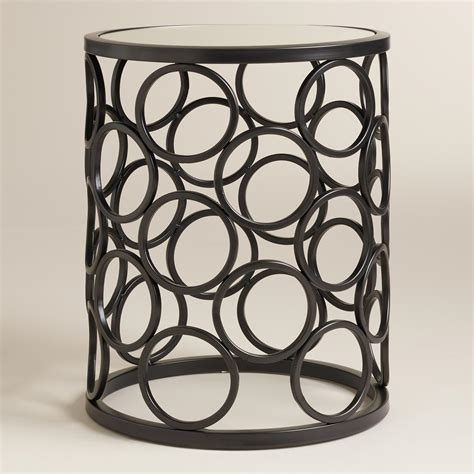 metal drum accent table decor of metal drum accent table with drum accent tables