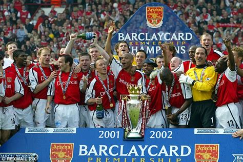 arsenal premier league arsenal s 2002 premier league winners earned 163 10k a week
