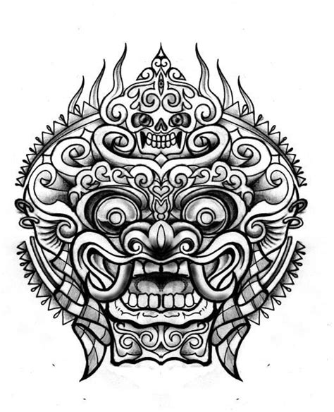 darius tattoo indonesia bali barong tattoos pinterest tattoo ideas ink and