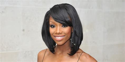 brandy new hairstyles on the game brandy stuns in an elegant dress in london