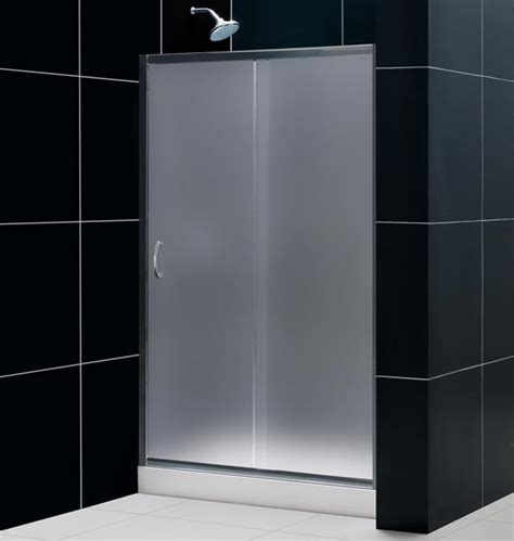 Opaque Shower Doors Showers Door Custom Dual Doors By Blizzard Frameless Showers