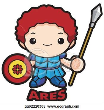 ares greek god clipart