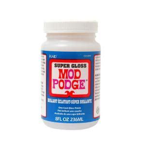 Waterproof Decoupage Glue - mod podge 8 oz gloss decoupage glue cs11297 the