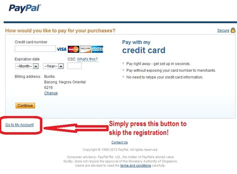 how to make a paypal without credit card how to earn how to register at paypal