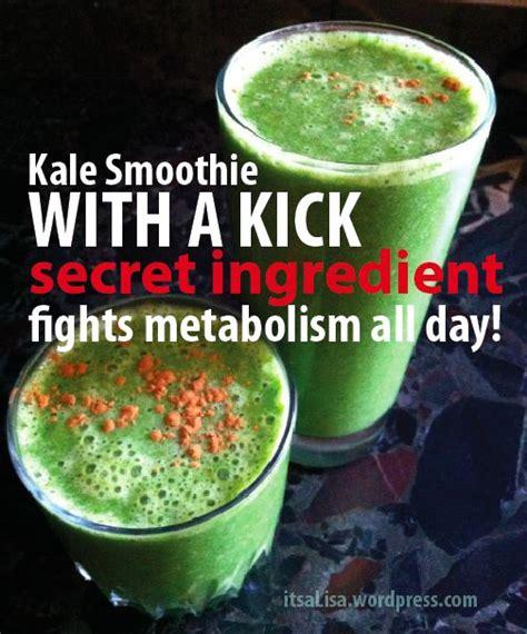 Kale Smoothie Detox Recipes by Great For Estrogen Detox Kale With A Kick Thx Itsa