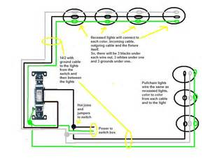 wiring recessed lights diagram wiring outlets diagram elsavadorla