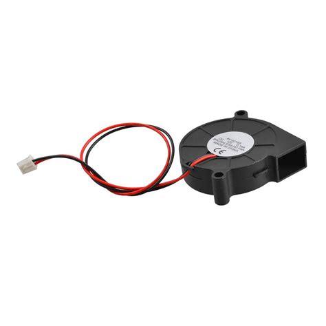 brushless radiator fan black brushless dc blower fan 5015s 12v 0 14a 50mm