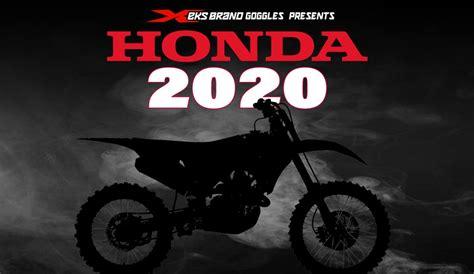2020 Honda Dirt Bikes by Honda To Announce 2020 Models Dirt Bike Magazine