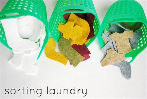 Laundry Sorting Game Sorting Laundry