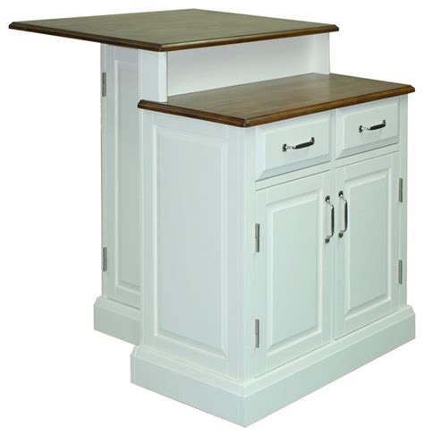 contemporary kitchen carts and islands shop houzz home styles furniture woodbridge 2 tier