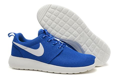 white and blue nike running shoes mens nike blue and white running shoe cladem