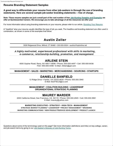 working resume template free work resume template free sles exles