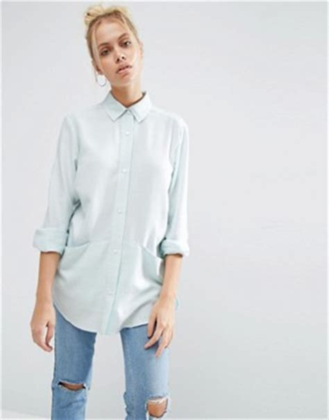 y a s y a s nemi zip shirts s shirts and blouses asos