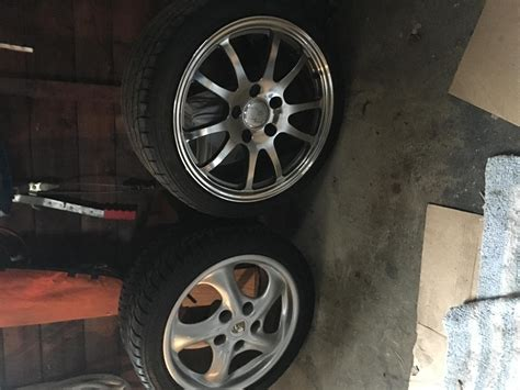 Tires And Wheels Mounted Time To Mount Snow Tires And Wheels Rennlist