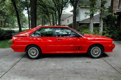 Audi Ur Quattro Parts by 83 Audi Ur Quattro Coupe Pelican Parts Forums