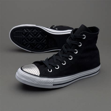 Sepatu Converse All Chuck Black High sepatu sneakers converse womens chuck all hi black
