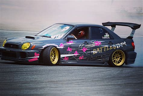 subaru rally drift justin woo s quot backyard built quot ls swapped subaru wrx drift car