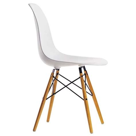 chaise dsw eames vitra blanche ideesboutique com