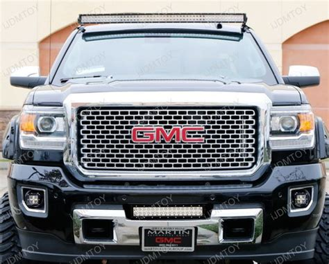 2015 gmc sierra fog lights gmc sierra chevy colorado high power cree led pot light