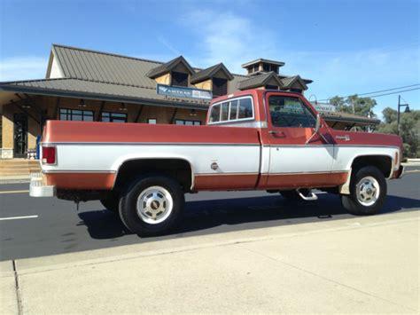 1978 chevy 3 4 ton 4x4 truck 1978 chevy 3 4 ton 4x4 clean ca truck original paint for