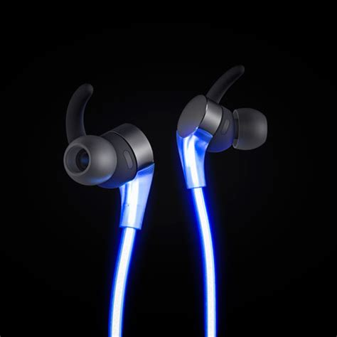 Glow Headphone glow headphones blue glow headphones touch of modern